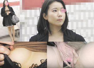 【チカン動画】吉高由※子系の会社帰り美脚OL*ナマ乳&乳首弄り*パンスト破り指マンで連続潮吹き