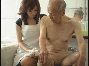 【義父風呂】あぁ…お義父さん私を求めないでください…旦那様に顔向けできません… 01