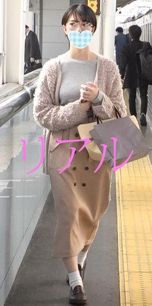 《限定》【電車チカン】【中出しSEX】 ピンク色図書館司書 くびれ巨乳 #6