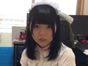 【個人撮影】ゴスロリ美少女を自宅に呼んでえっち