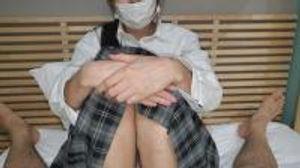 限定【個撮】県立普通科②地味な見た目なのに派手なパンツ脱がせ未処理まんこを晒して手コキ