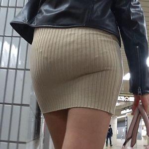 【電車対面パンチラ41☆続編】歩行観察記録/エロ尻お姉さん!