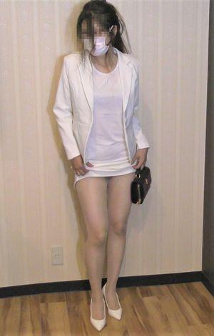 【白系パンスト熟女】【足指舐めズーム撮影】【両足はさみ足コキ】パンスト美女の足指を舐めつくす【ゆみ43才 秘書 168cm】【個撮】