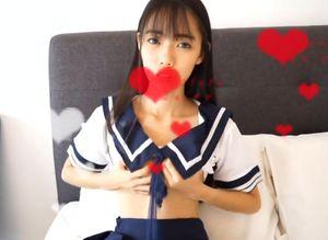 【ハメ撮り 個人撮影】 制服姿のロリ美少女との生ハメSEX!