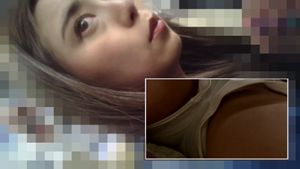 【電車チカン動画】SNSで触られ願望が強いドM女子とマッチング車内でちかんプレイを堪能2