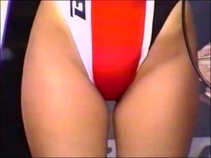 昔のゲキアツサーキットお宝ハイレグレースクイーン美尻マル秘映像