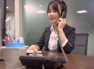 【無修正】 絶対かわいい! 中国系 女性社員私物化される!