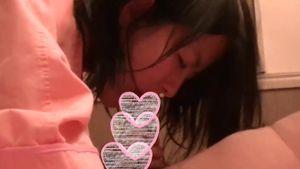 【個人撮影】ナマコみたいなおちんぽを唾液でからませるフェラの達人娘【スマホ】