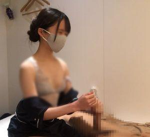 【五反田】出張ローション手コキ隠し撮り・ブラ見せオプション【木内(20歳)6回目】