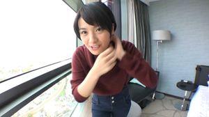 【個人撮影】大手銀行員あいちゃん(23)が彼氏に内緒で秘密のバイト!小さくて可愛いマンコにザー汁注入!