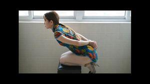 【無修正】★☆個人海外SM縛りフェチ★☆中国素人美女がメタボ男にSM縄縛りヌード撮影!