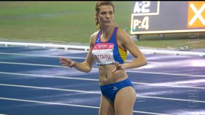 ルーマニアの走り幅跳び選手がデカ尻過ぎて全く隠せてない件