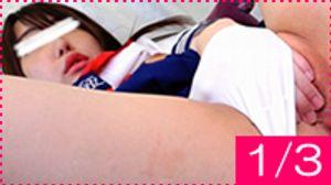 【1/3】可愛くてエロさ満点の美女初登場の回!巨尻×素人他@団体ヌード撮影会!