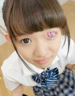 【制服少女×フェラ×手コキ】可愛い子に見つめられながらの射精