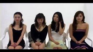 【無修正】★☆海外素人流出動画☆★ヌード撮影会 韓国清楚系美女4人