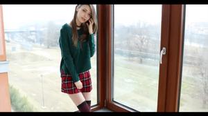 【高画質】美人すぎるウクライナモデルのオナニー【無修正】