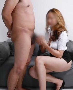 【個人撮影】巨乳若妻みゆき(27)仕事終わりのOLがセクシーすぎて大興奮・・・