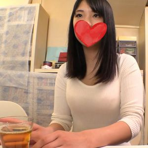 【ハメ撮り】黒髪美少女にエロエロAV面接?