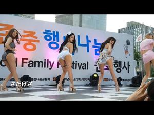 セクシーなアイドルダンスグループ。