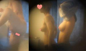 例の某媒体モデルさん!美女でスレンダー爆乳。ついにオ◯ンコにクリームを塗るシーンを激写!!