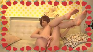 【オナニー自撮り動画】相沢みなみちゃんのおもちゃでオナニーだよ?