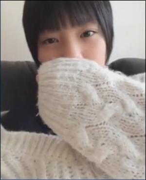 【流出】幼い美少女が好きな方、必見です。 「Skype流出少女」