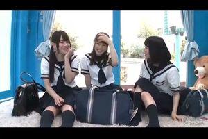 【MM号】田舎の3少女を口説いて乗せて処女膜貫通