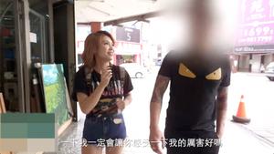 【高画質】巨乳中国美女が路上で逆ナンし見ず知らずの男と生SEX 口内射精、パイズリ【無修正】
