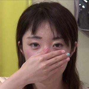 【個人撮影】かりん22歳の大学4年生★就職活動中の女子大生!パイパンのオ〇ンコに生中出しです!
