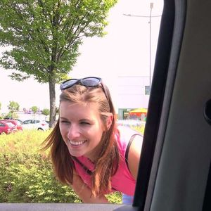 Jenifer Jane is a horny hitchhiker Czech HitchHikers
