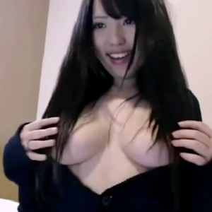 【無】美少女File No.107 黒髪超絶美少女 マンコ見せつけバイブオナニー LIVE