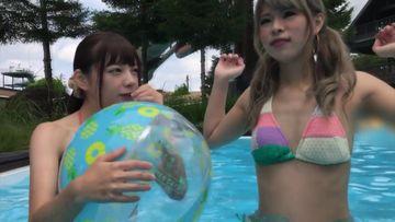 ★VOL.9 リゾートナンパの素人水着女子が夏の開放感でフェラるきじょる!べりないす!ev46