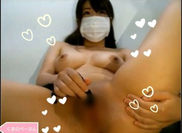 【ローター・指オナニー】めちゃかわ巨乳女子のライブチャット@011