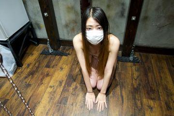 【SM調教計画(なな編22歳)④】ご主人様の肉棒挿入を自ら実況するM女羞恥プレイ!