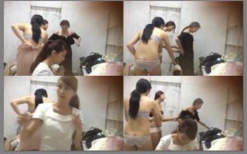 ファッションショー更衣室 モデル美女の下着姿 半ケツ!!!81404