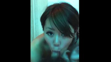 【スマホ撮影】激カワ泡姫ギャルの濃厚フェラ