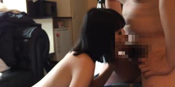 【個撮 素人 顔出】元テニス部ドM娘 美乳スタイル良好娘とのパパ活