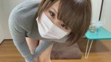 【ローター】ショートカットタートルネック女子の初々しいオナニー【個人撮影】