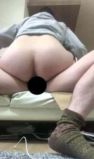 【膣内射精】時間が無い時のセックス