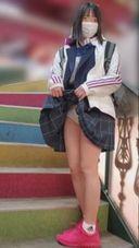 8まで【個撮】県立商業科②色白少女。合宿前にお小遣い上乗せで生挿入を試みる