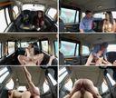 全身タトゥー女とタクシー運転手との車内SEX映像!ただタクシーに乗っただけなのにドライバーに乗られるハメになるのは(汗)行き先はオルガズムという名の昇天♪
