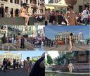 [露出おさんぽpart2]羞恥心をどっかに置いてきてしまったチョイ白ムチ女が街中ガチ全裸散歩(汗)こんな女がおっぱいマ◯コ丸見えの全裸で歩いているなんてパラダイスかwww