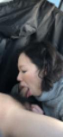 [個人撮影]#5 Eカップお姉さんの車内フェラで口内発射