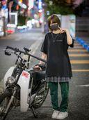 【個人撮影】ムラタ1●歳美形ボーイッシュバイクガールにノーヘル騎乗で生中出し【山射】