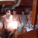 【数量限定】JD集団と船上合コンからの乱交生ハメセックス!!