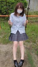 【個撮】県立普通科③小悪魔娘が公園で野外露出から仲直りセックス。