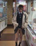 【個撮】県立普通科①無垢な色白少女。ゲーセンで露出からホテルで体を弄ばれる