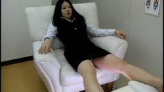 OL foot massage massage panmolo picture secret shooting Part 1 TEZ-195-1