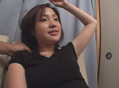 Thirty wife's wife fully photographed with a living alone and erotic mode fully opened ...