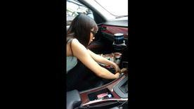 車内 個人 フェラ 撮影
